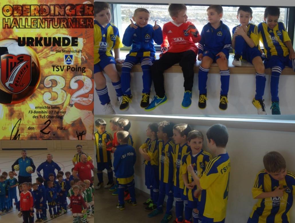 TSV Poing - Toller 2. Platz in Oberding