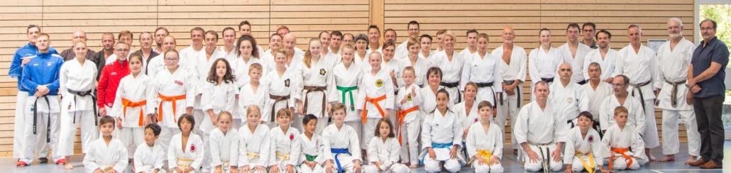Karate Gruppe