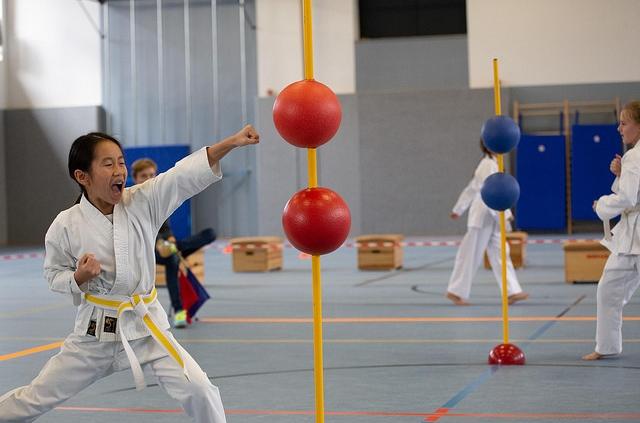 Karate am Ball