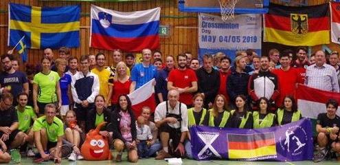 Crossminton - German Open 2018 in FFB