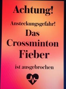Crossminton-Fieber