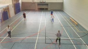 Crossminton-Schnuppertraining